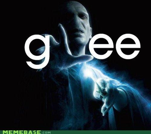 glee,Harry Potter,he who cannot be named,Memes,voldemort