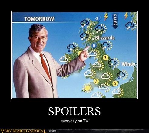 spoilers,tomorrow,weather