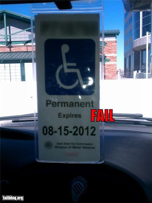 expiration failboat g rated handicapped hanger permanent really understanding words - 4525444352