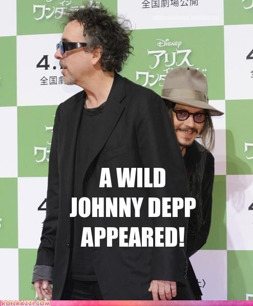 celeb,funny,Hall of Fame,Johnny Depp,tim burton