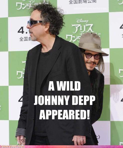 celeb funny Hall of Fame Johnny Depp tim burton - 4525528064
