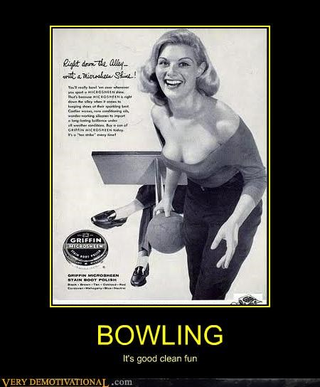 advertisement,boobies,bowling