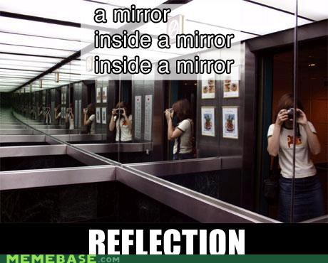 Inception mirror Photo reflection - 4525844224