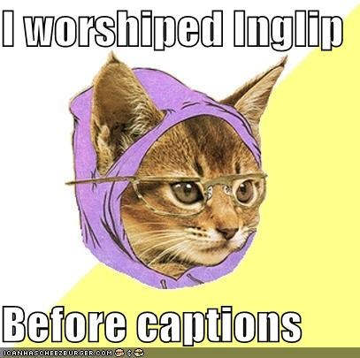 captions Hipster Kitty inglip - 4525900544