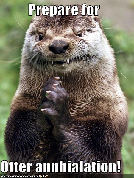 annihilation caption captioned otter prepare pun similar sounding utter - 4526557696