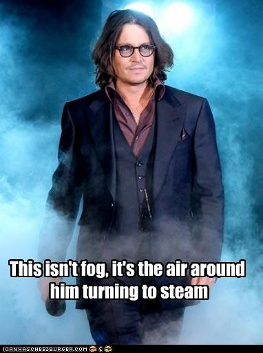 actor celeb funny Hall of Fame Johnny Depp