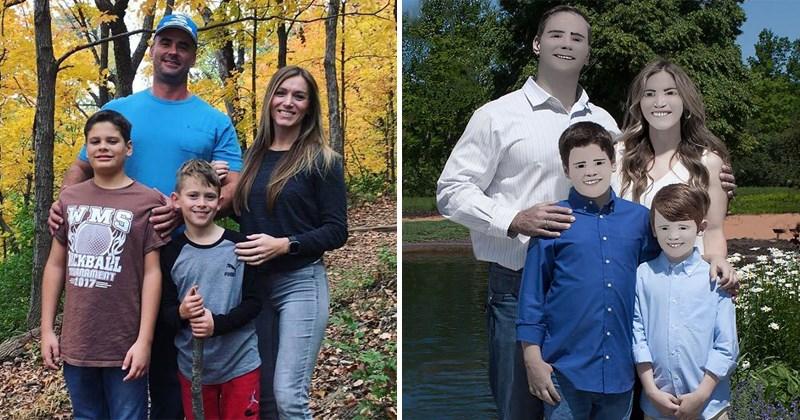 Funny photoshop fail, imagery by lesa hall, pam zaring, family photos, photoshop, photography.