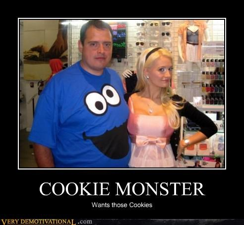 Cookie Monster,Sesame Street,Sexy Ladies,shirt