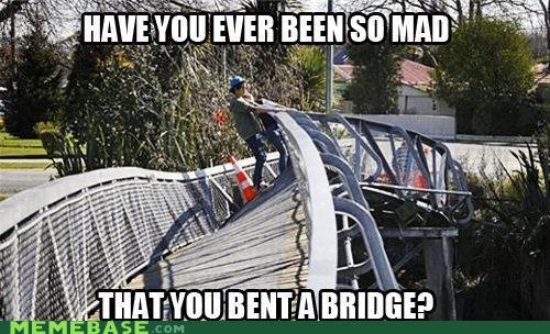 angry bridge tantrum - 4528071936