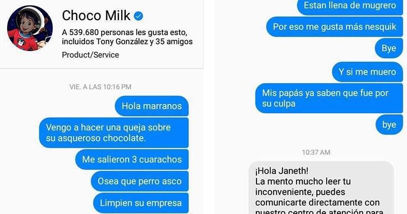 choco milk trollea