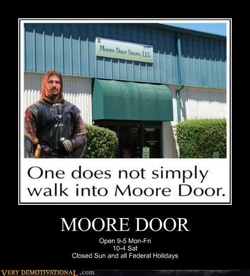 homonym Lord of the Rings moore door mordor - 4529633024