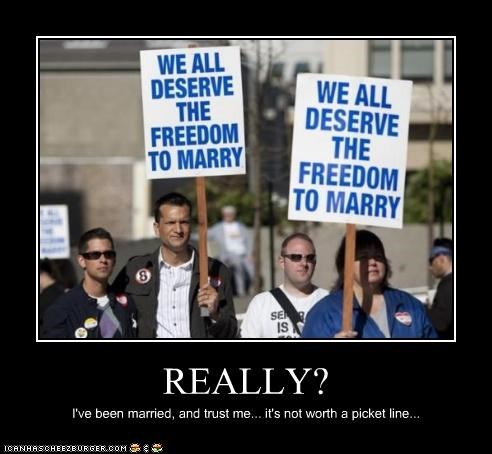 gay rights marriage protesters signs - 4530984704