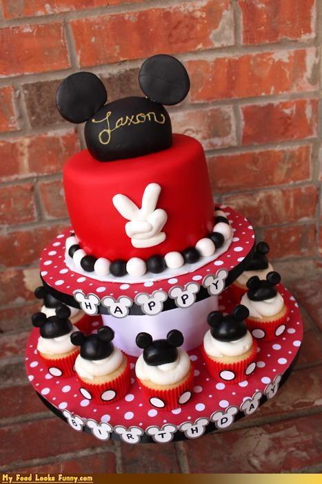 cake,cupcakes,disney,ears,epicute,fondant,mickey mouse,mouse ears