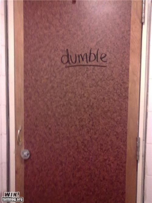 clever,door,Harry Potter,sharpie