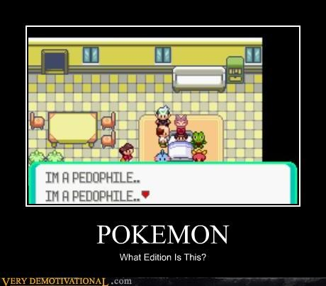 pedophile Pokémon video games wtf