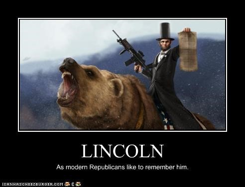 LINCOLN As modern Republicans like to remember him.