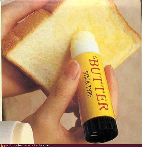 butter stick food nom nom nom paula dean wtf - 4531809536