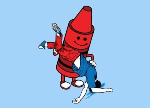 Nick Roberts Ruined Childhood Tee threadless - 4531849216