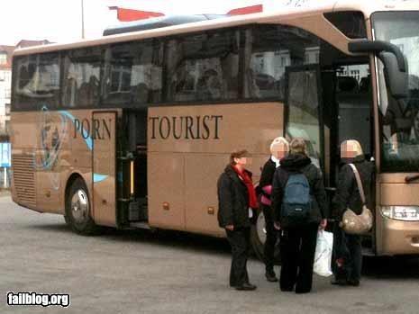 bus facepalm failboat names poor planning pr0n tours - 4532250880