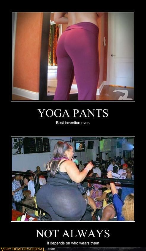 booty in shape out of shape yoga pants - 4532366080