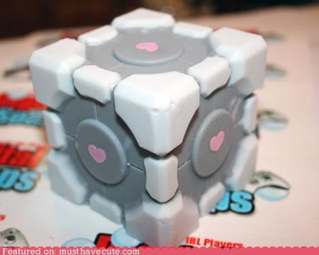 bath companion cube mountain dew Portal soap video game - 4532366336
