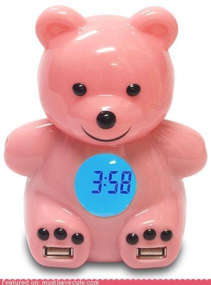 bear clock usb hub - 4532368128