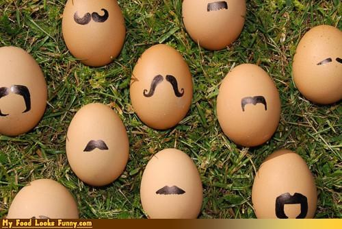disguise eggs hipster marker mustaches - 4532389120