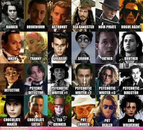 actor celeb funny Hall of Fame Johnny Depp - 4532393472