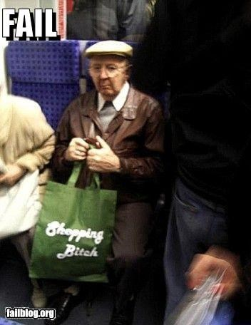 bags failboat god hates bags mass transit old people shopping - 4532454400