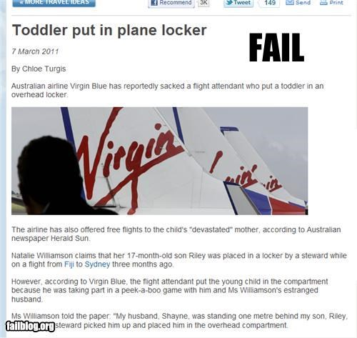 airlines bad idea failboat g rated hide and seek little kids parenting Probably bad News toddlers