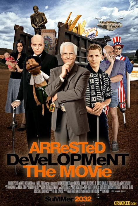 Arrested Development Movi,This Looks Shopped