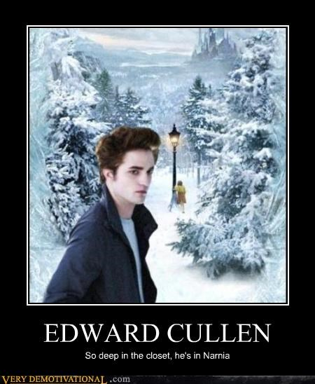 closet edward cullen narnia twilight - 4532943872