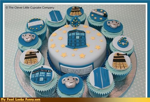 6,birthday,cake,doctor who,fondant