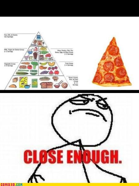 Close Enough food nutrition pizza - 4533582080