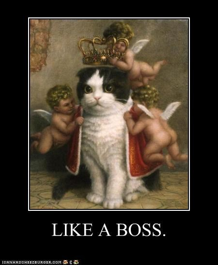 art cat demotivational funny historic lols painting - 4533691904