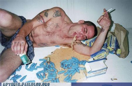 drugs gross jackass Party puke steve o - 4534071552