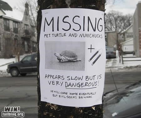 Lost Sign,nerdgasm,ninja turtles