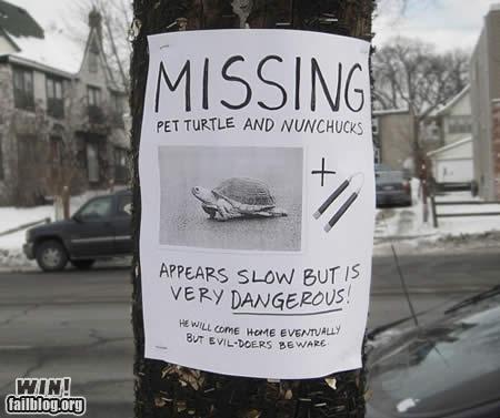 Lost Sign nerdgasm ninja turtles - 4534517760