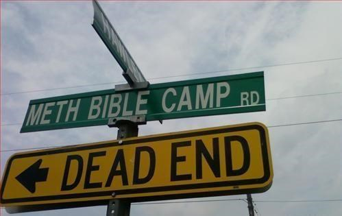 Meth Bible Camp,Morning Links,Not Even Once