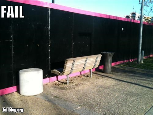 benches failboat g rated outdoors wrong way - 4534868224