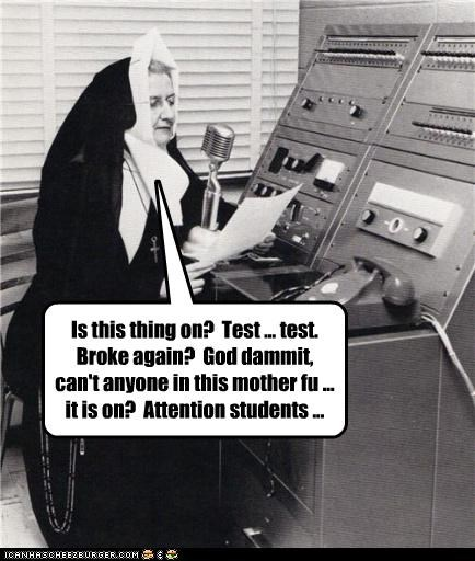 funny nun Photo religion