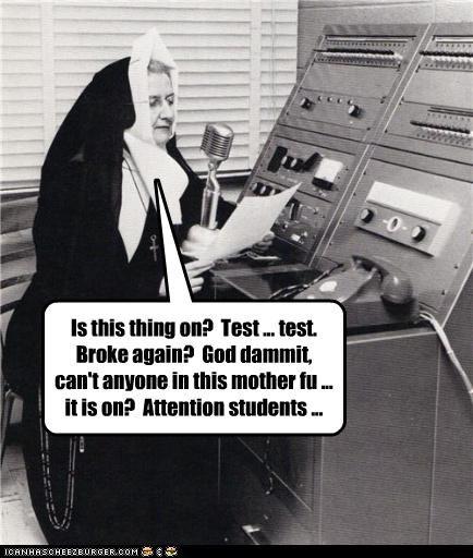 funny nun Photo religion - 4534992128