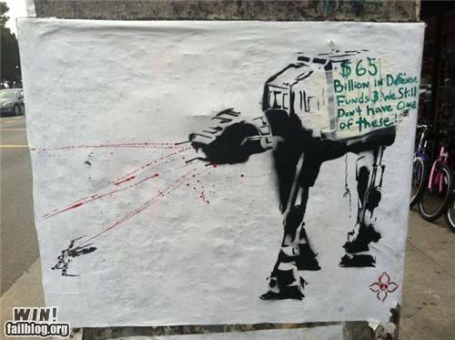 hacked,nerdgasm,politics,star wars,stencil