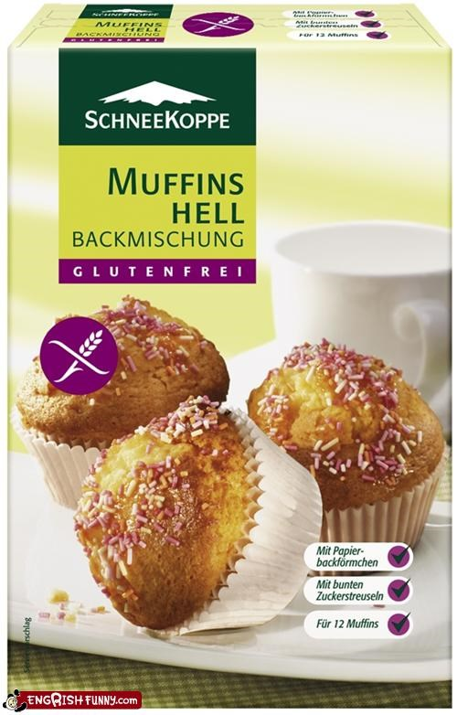 food hell muffin