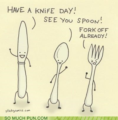 farewell,fork,goodbye,goodbyes,knife,sayings,send-offs,spoon
