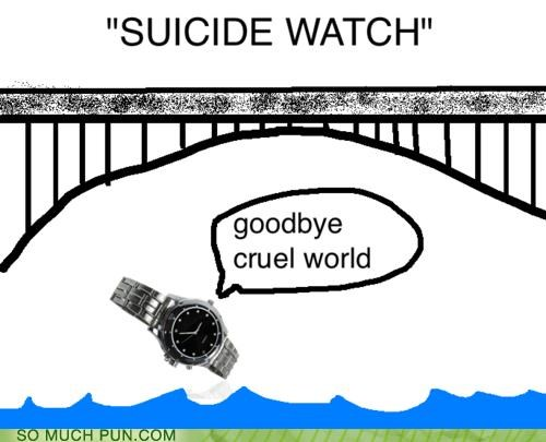 bridge FAIL goodbye jumping literalism suicide watch waterproof - 4535316992