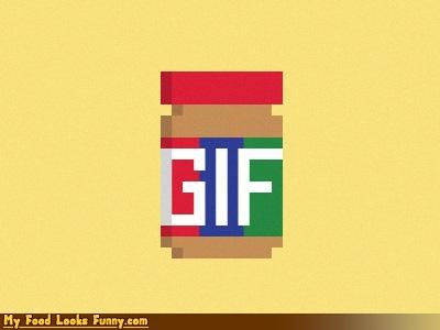 8 bit,gifs,jif,peanut butter,pixelated