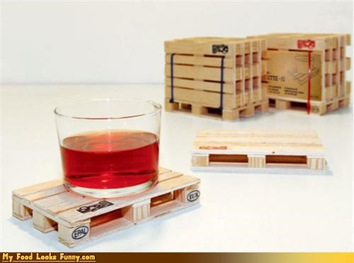 coaster drink forklift pallet union warehouse - 4535384320