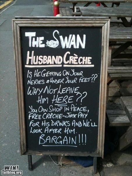 awesome at work blackboard chalk husband marriage