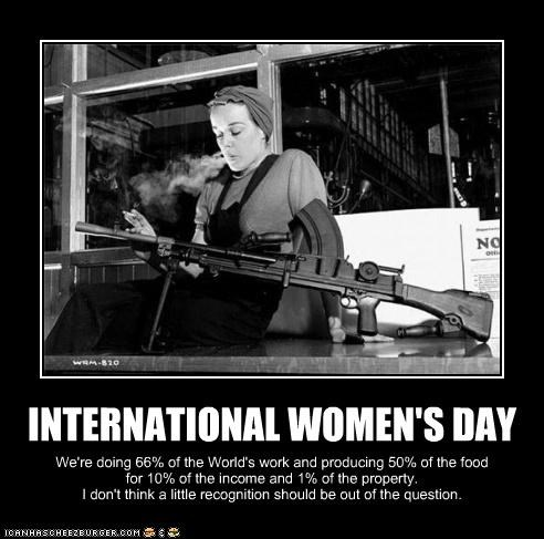 demotivational,historic lols,Photo,war,weapon,woman